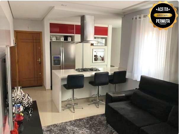 Cobertura com 3 dormitórios à venda, 146 m² por R$ 700.000