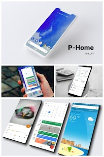 P-Home for KLWP Screenshot