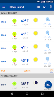 YachtingWeather screenshot for Android