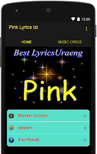 Pink Lyrics Izi - screenshot