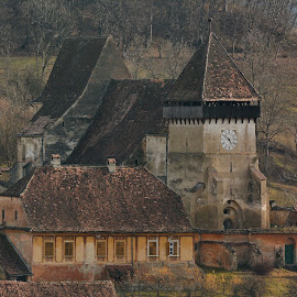 The fortified church in Copşa Mare by Sorin Lazar Photography - Buildings & Architecture Places of Worship ( old, ancient, nature, architecture, medieval, places of worship )