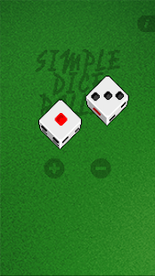 Simple Dice Roller - screenshot