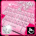 App Pink Diamond Princess Keyboard Theme APK for Windows Phone