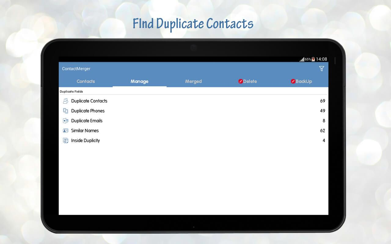 Duplicate Contact Merger Screenshot 10