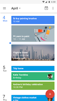 Google Calendar APK screenshot thumbnail 1