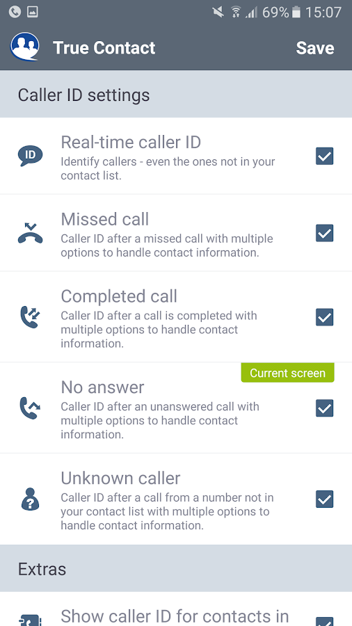 True Contact - Real Caller ID Screenshot 3