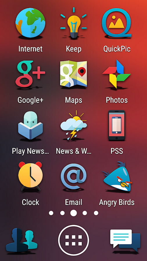 Proton - Icon Pack Screenshot 3