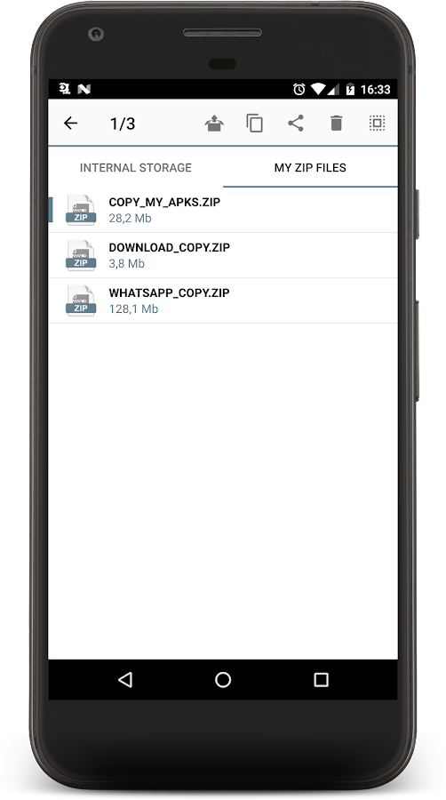 UNZIP & ZIP FILES PRO Screenshot 2