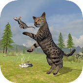 Game Wild Cat Survival Simulator apk for kindle fire