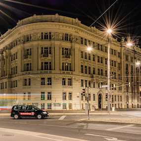Vienna by Milan Z81 - City,  Street & Park  Night ( vienna, europe, night, austria, city, city at night, street at night, park at night, nightlife, night life, nighttime in the city )
