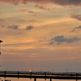 Chincoteague  by Chastity Butler-Hamlett - Landscapes Sunsets & Sunrises