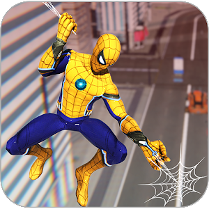 Amazing Spider Rope man hero Spider rope hero game For PC / Windows 7/8/10 / Mac – Free Download