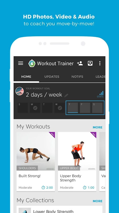 Workout Trainer: fitness coach Screenshot 3