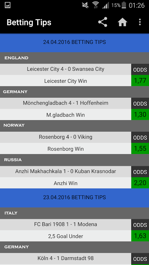 VIP Betting Tips : Predictions Screenshot 2