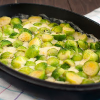 Brussel Sprouts Casserole With Cheese Recipes