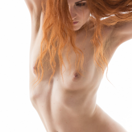 Torso by Reto Heiz - Nudes & Boudoir Artistic Nude ( sexy, nude, nudeart, female nude, red haired )