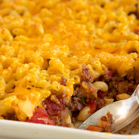 Mac And Cheese-Burger Casserole