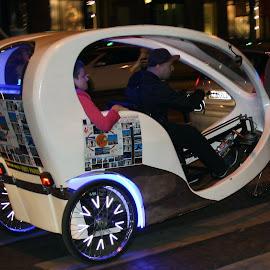 city Car by Renaud Louis - Transportation Automobiles ( car street paris town,  )