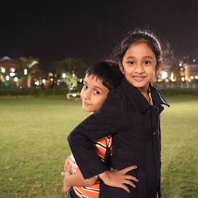 Style by Manoj Ojha - Babies & Children Child Portraits ( majaz, female, male, uae, night, kids, waterfront, sharjah )