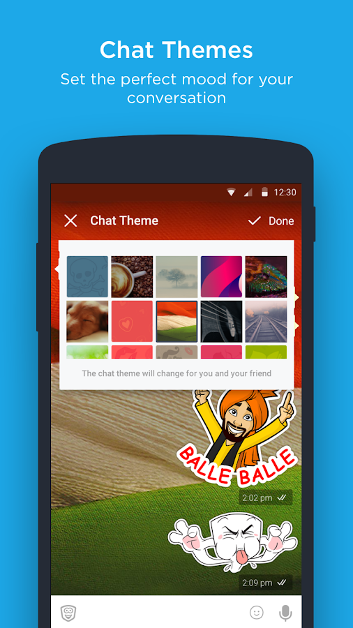 hike messenger Screenshot 5