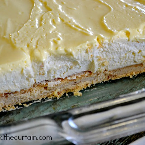 Recipe for Banana Cream Pie Bars