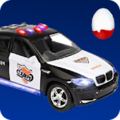 Police Car Game: Surprise Egg