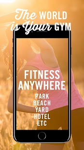 Fitness Anywhere Fitness app screenshot for Android