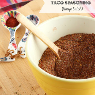 Large Batch Homemade Taco Seasoning