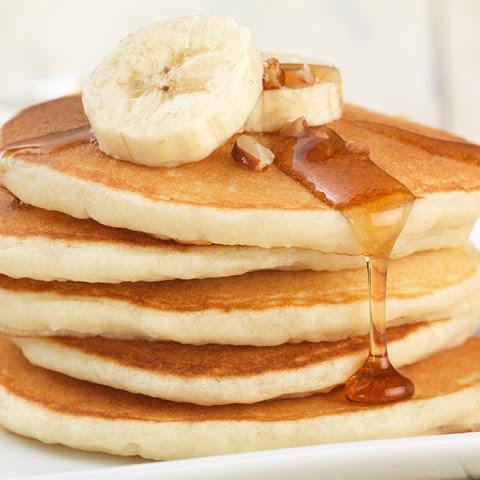 Gluten-Free Pancakes made with baking mix