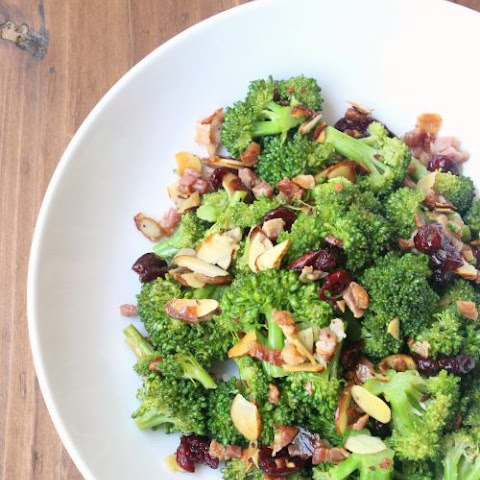 Spicy Lemon Broccoli Salad
