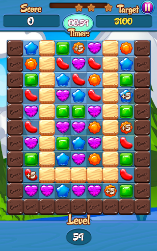Cookie Gummy Mania Drop - screenshot