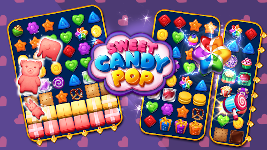 Sweet Candy POP : Match 3 Puzzle