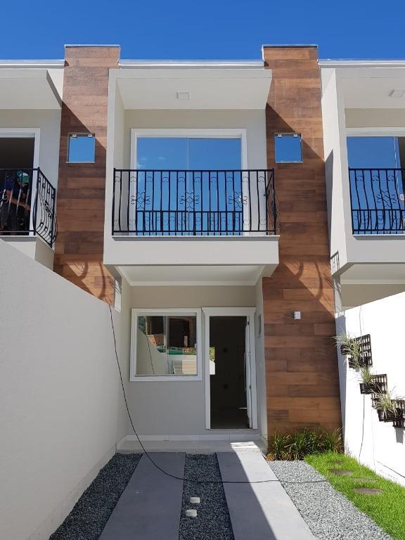 Sobrado com 3 dormitórios à venda por R$ 329.000 - Alto São Bento - Itapema/SC