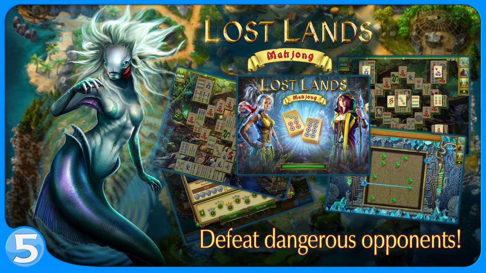 Lost Lands: Mahjong Premium Screenshot 3