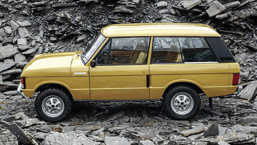 Hip history:  In a bid to capitalise on the explosion of interest in the vintage market, Land Rover have launched a Reborn range that sees 1970s-era Range Rovers restored to their former glory.     Picture: SUPPLIED