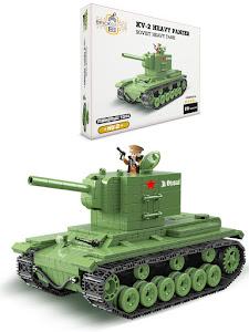 """Конструктор серии """"Brick Battle"""", тяжелый советский танк 2"""