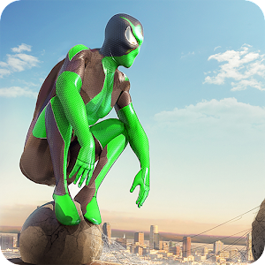 Rope Frog Ninja Hero - Strange Gangster Vegas For PC / Windows 7/8/10 / Mac – Free Download