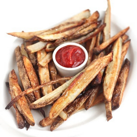 How to Bake Crispy French Fries