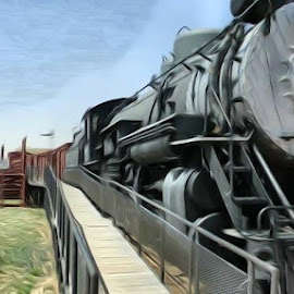 by Casey Brown Myers - Transportation Trains (  )