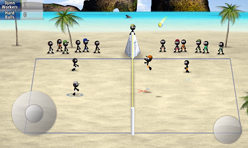 Stickman Volleyball Screenshot 4