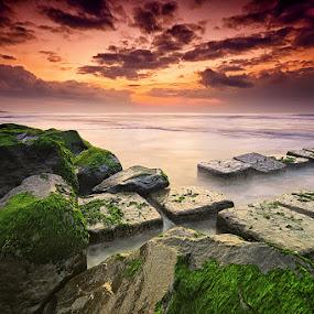 The Ancient of Manyar by Hendri Suhandi - Landscapes Sunsets & Sunrises ( bali, manyar, beach )