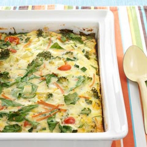 Garden Vegetable Egg Bake Recipes   Yummly