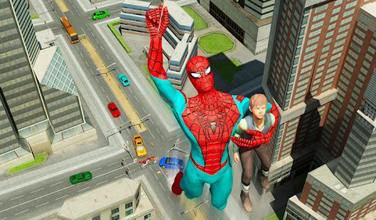 Spider Hero Crime Battle apk screenshot