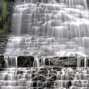 HDR Albion Falls by Brad Chapman - Landscapes Waterscapes ( water, waterfalls, 2013, fall, falls, hamilton, albion falls,  )