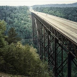 New River Gorge Bridge by Nick Goetz - Buildings & Architecture Bridges & Suspended Structures ( west virginia, new river gorge, arches, bridge )