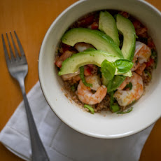 Shrimp and Bulgur Salad