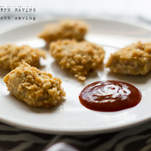 Paleo Oven Baked Chicken Nuggets