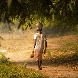 Village Shot  by Bittu Prodhan - People Street & Candids ( light effect, nature, village, lifestyle, street scene )