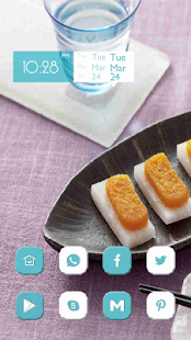 Exquisite lovely sushi theme - screenshot