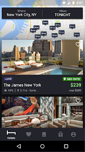 HotelTonight: Book amazing deals at great hotels for pc